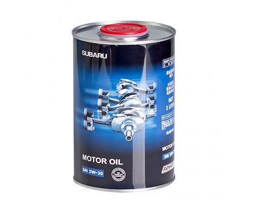 Fanfaro SUBARU SAE 5W30 API SM 1л ж/б масло моторное (1л./24шт.) K021EY0L10-1