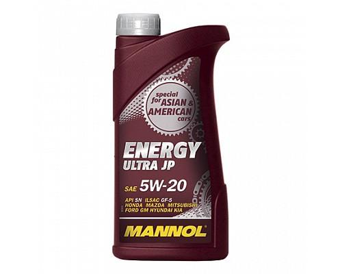 MANNOL UJ10158 Синт. моторное масло Energy Ultra JP SAE 5W-20 (1л.) 1/20шт. 4000