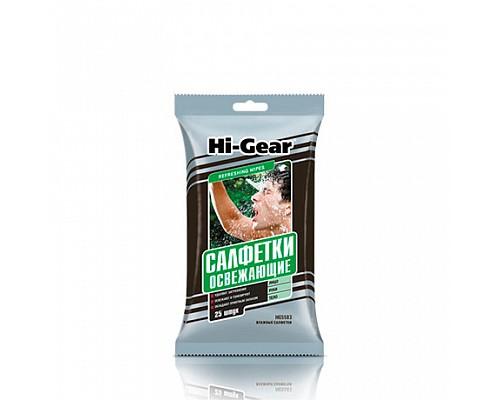 HG5583 Салфетки влажные освежающие WET WIPES 25 шт 1/24