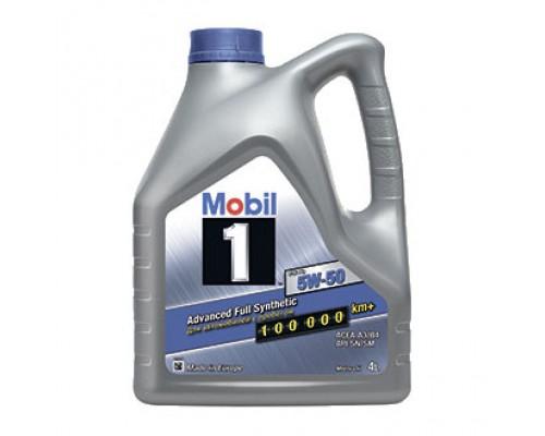 Mobil 1 5w50 FS синтетическое моторное масло 4л