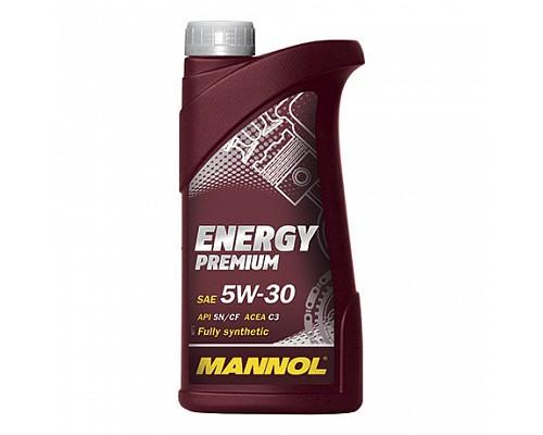 MANNOL SU10138 Синт. моторное масло Energy Premium SAE 5W-30 (1л.) 1/20шт. 4006