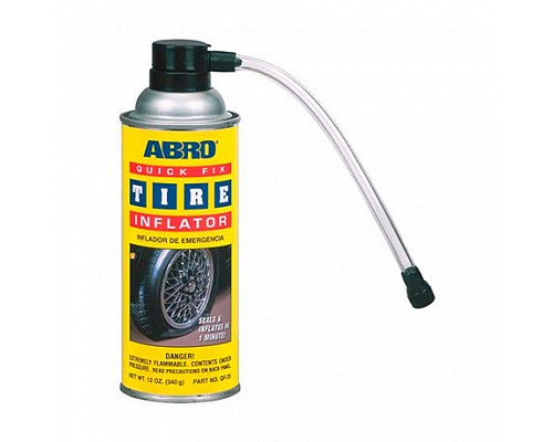 ABRO герметик для колес QF-25-R 340г. 1шт./12шт.