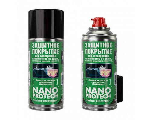 NANOPROTECH Защитное покрытие для электронных компонентов от влаги Marine Electronic 210мл 1/12